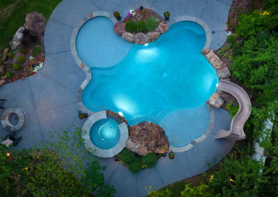 Allison Pools - Freeform Pool - Natural Pool