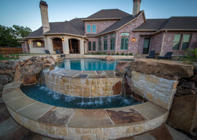 Allison Pools - Infinity Edge Pool