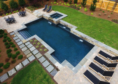 Artistic Pools - Traditional Geometric Pool
