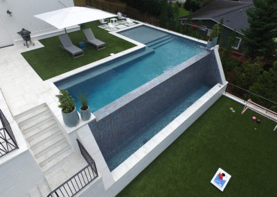 Artistic Pools - Residential Infinity Edge