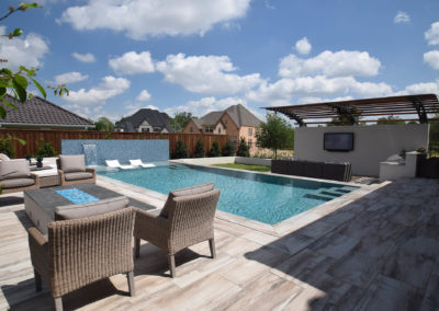 Claffey Pools Residential Geometric Pool Traditional Pool