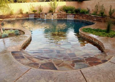 Genesis Pools - Freeform Pool - Natural Pool