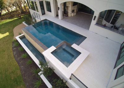 Master Pools of Austin - Geometric Pool - Traditional Pool