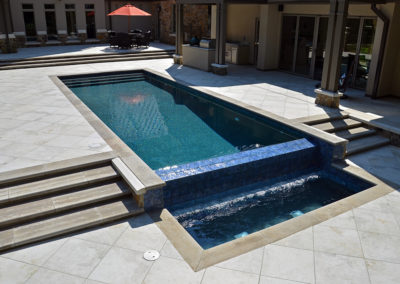 Memphis Pool - Geometric Pool - Traditional Pool