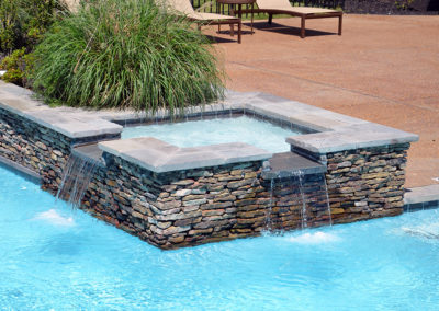 Memphis Pool - Spa - Water Feature