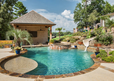 Morehead Pools - Freeform Pool - Natural Pool