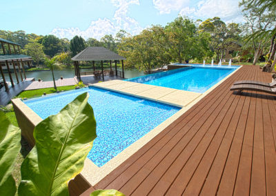 Custom Pools in Panama Beach City