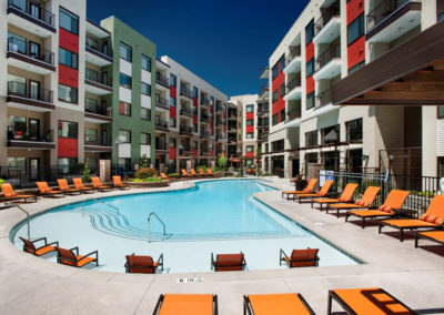 Panama City Commercial Hotel Pool